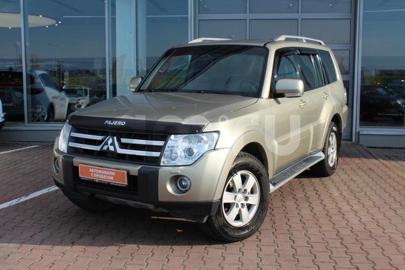 Mitsubishi Pajero с пробегом, бежевый , отличное состояние, 2007 года выпуска, цена 859 000 руб. в автосалоне  ()