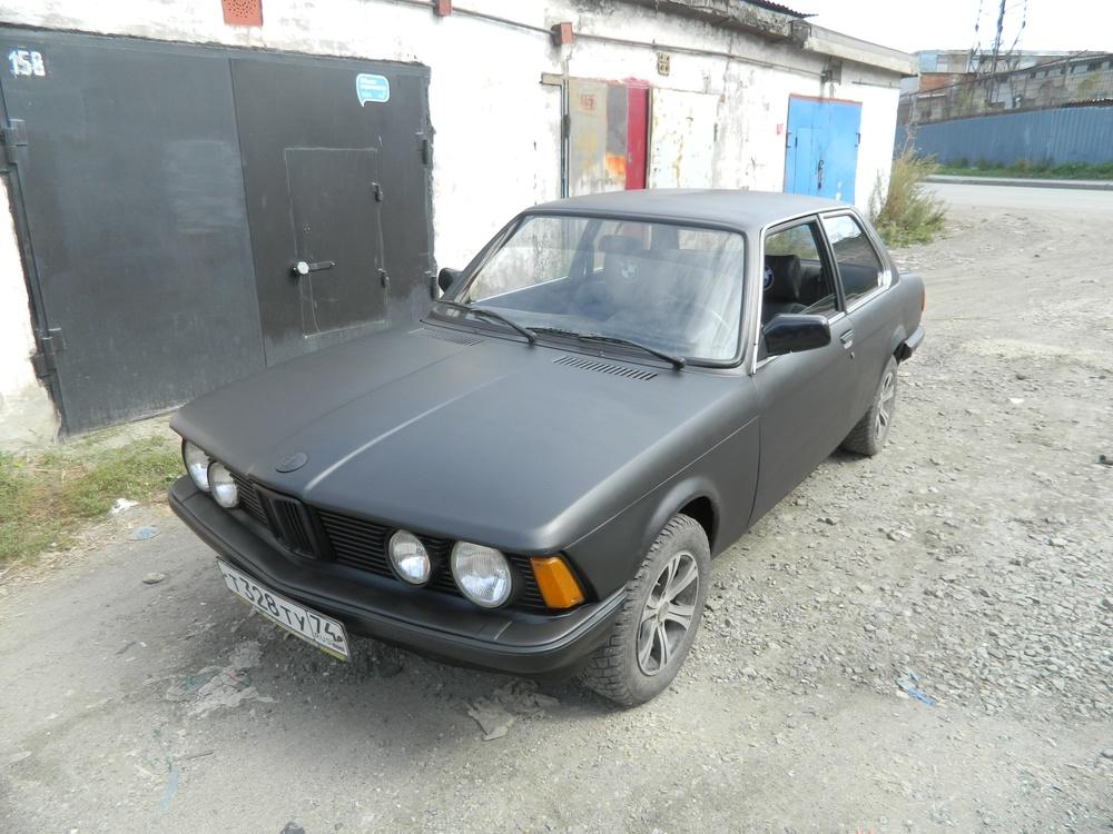 Подержанный BMW 3 серия, хорошее состояние, черный матовый, 1978 года выпуска, цена 120 000 руб. в Челябинской области