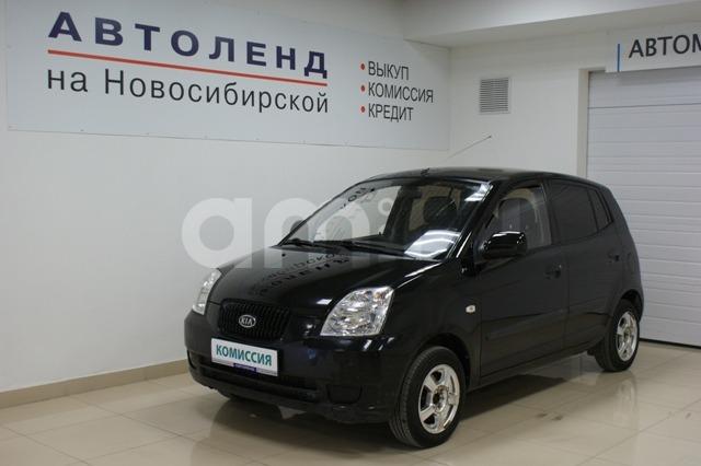 Kia Picanto с пробегом, черный , отличное состояние, 2007 года выпуска, цена 170 000 руб. в автосалоне  ()