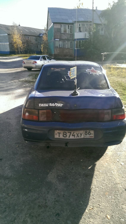 Подержанный ВАЗ (Lada) 2110, хорошее состояние, синий , 1998 года выпуска, цена 40 000 руб. в ао. Ханты-Мансийском Автономном округе - Югре