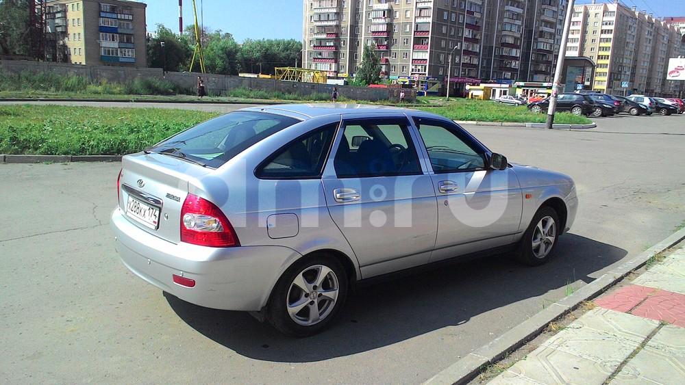 Подержанный ВАЗ (Lada) Priora, отличное состояние, серебряный металлик, 2009 года выпуска, цена 210 000 руб. в Челябинской области