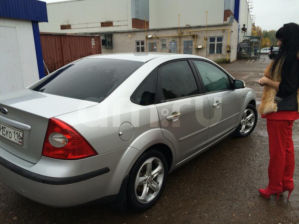 Подержанный Ford Focus, отличное состояние, серебряный металлик, 2007 года выпуска, цена 280 000 руб. в республике Татарстане