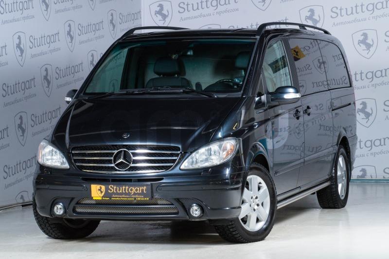 Mercedes-Benz Viano с пробегом, серый , отличное состояние, 2006 года выпуска, цена 1 800 000 руб. в автосалоне Stuttgart (Екатеринбург, ул. Металлургов, д. 84(напротив ТЦ «Мега»))