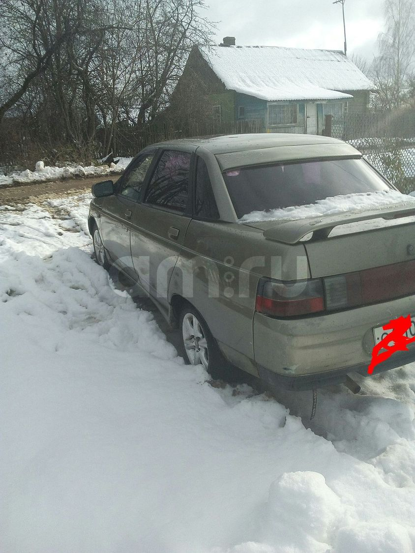 Подержанный ВАЗ (Lada) 2110, хорошее состояние, серый металлик, 2002 года выпуска, цена 67 000 руб. в Смоленской области