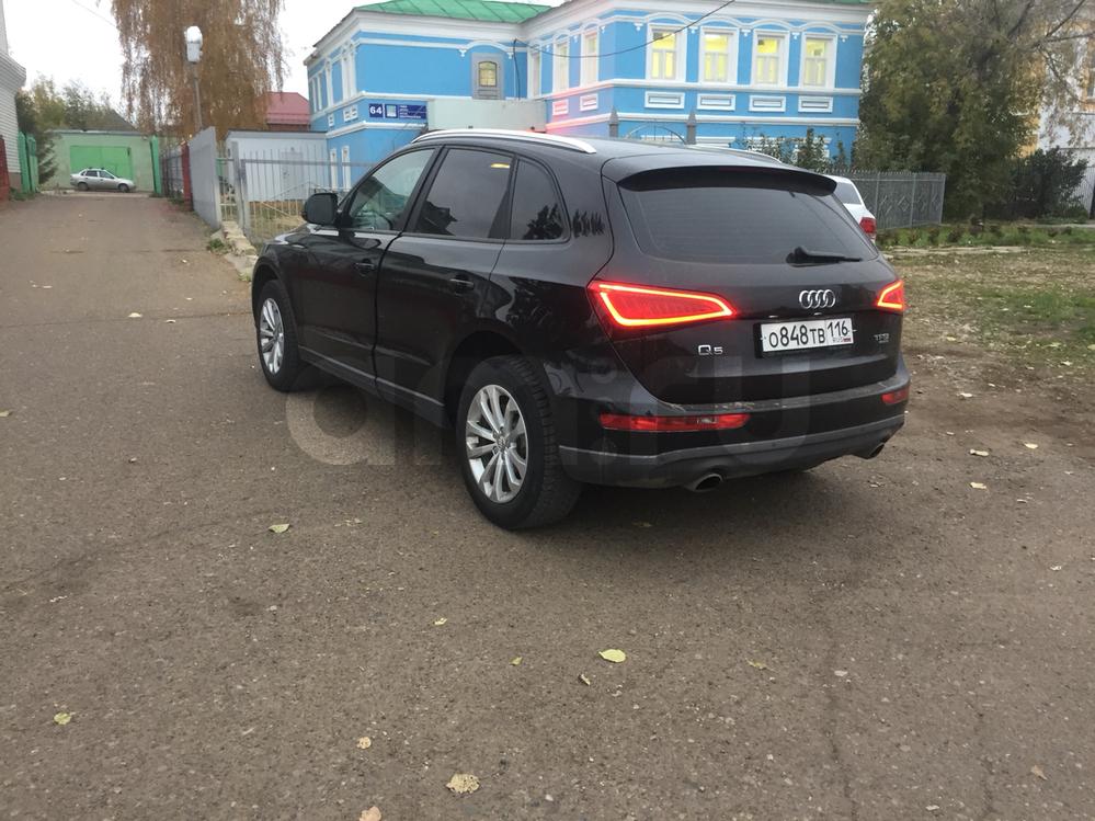 Подержанный Audi Q5, отличное состояние, черный , 2014 года выпуска, цена 1 699 000 руб. в республике Татарстане