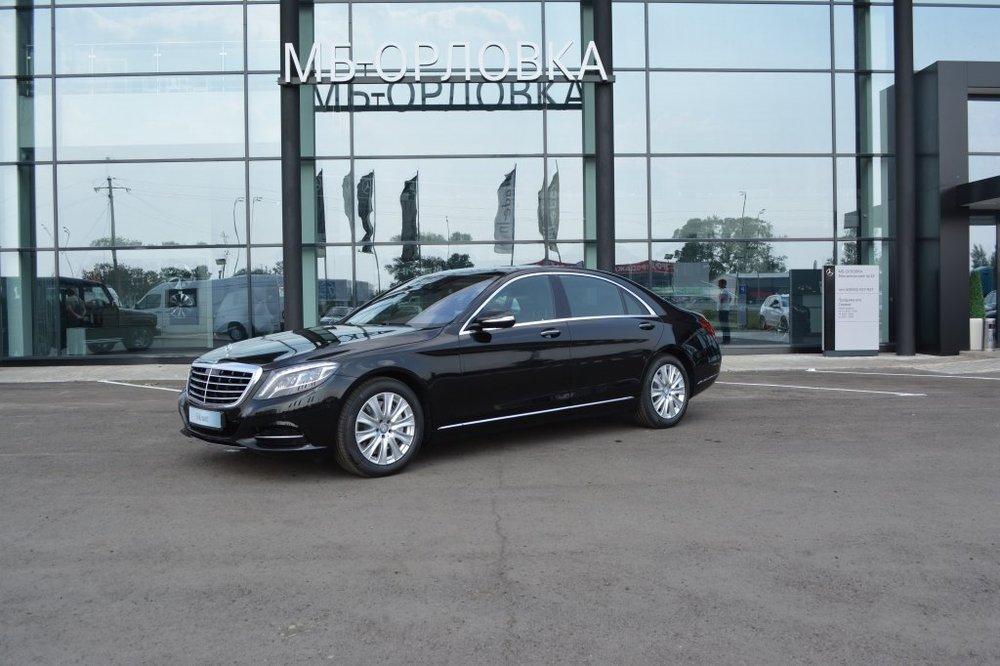 Новый авто Mercedes-Benz S-Класс, черный металлик, 2016 года выпуска, цена 6 815 000 руб. в автосалоне МБ-Орловка (Набережные Челны, тракт Мензелинский, д. 24)