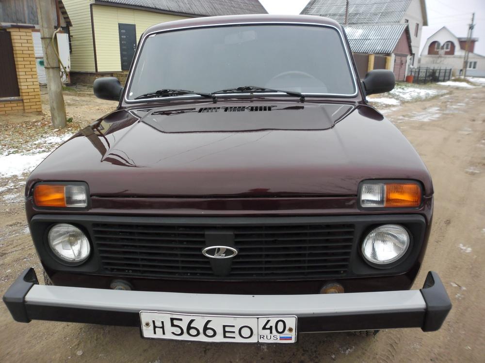 Подержанный ВАЗ (Lada) 4x4, отличное состояние, бордовый металлик, 2012 года выпуска, цена 290 000 руб. в Смоленской области