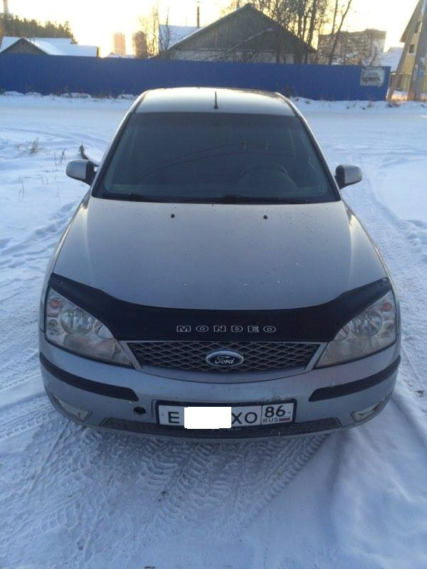Подержанный Ford Mondeo, отличное состояние, серый , 2005 года выпуска, цена 265 000 руб. в ао. Ханты-Мансийском Автономном округе - Югре