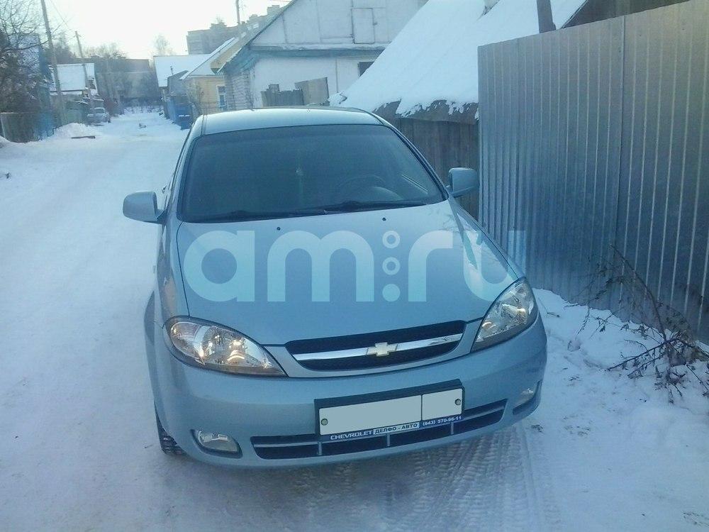 Подержанный Chevrolet Lacetti, отличное состояние, голубой металлик, 2011 года выпуска, цена 345 000 руб. в республике Татарстане