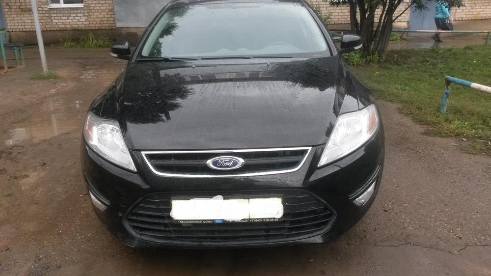 Подержанный Ford Mondeo, отличное состояние, черный , 2013 года выпуска, цена 570 000 руб. в республике Татарстане