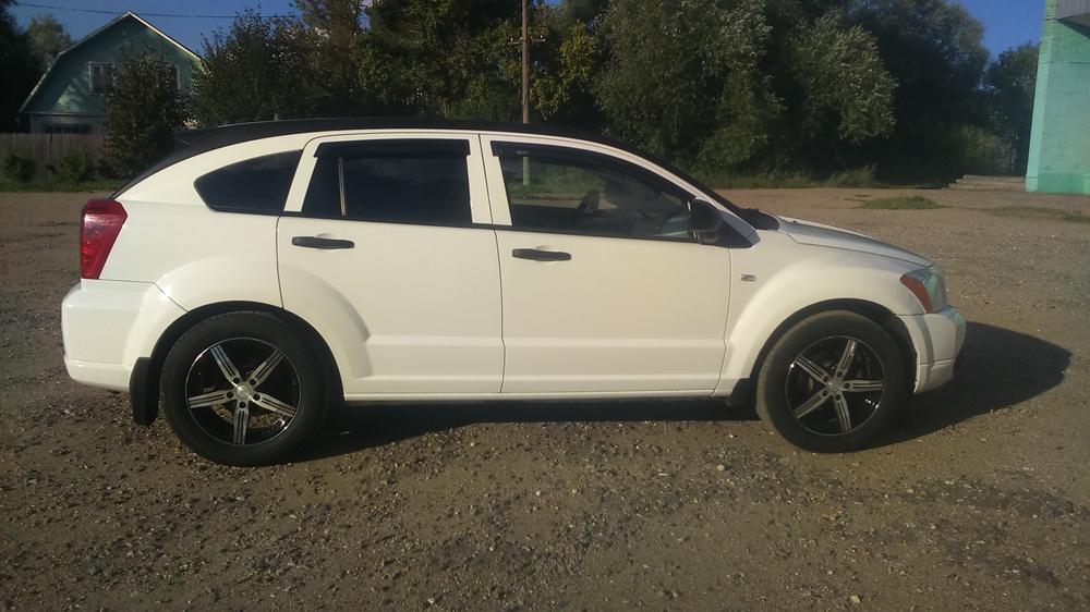 Подержанный Dodge Caliber, отличное состояние, белый , 2006 года выпуска, цена 425 000 руб. в Смоленской области