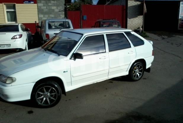 Подержанный ВАЗ (Lada) 2114, хорошее состояние, белый , 2010 года выпуска, цена 165 000 руб. в Челябинской области