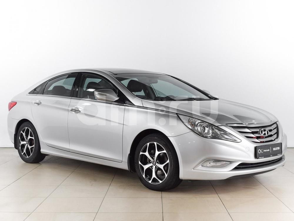 Hyundai Sonata с пробегом, серебряный , отличное состояние, 2010 года выпуска, цена 769 000 руб. в автосалоне  ()