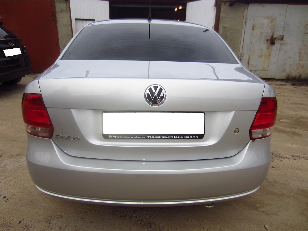 Подержанный Volkswagen Polo, отличное состояние, серебряный металлик, 2014 года выпуска, цена 580 000 руб. в Смоленской области