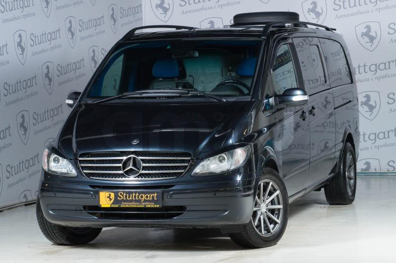 Mercedes-Benz Viano с пробегом, черный , отличное состояние, 2005 года выпуска, цена 850 000 руб. в автосалоне  ()