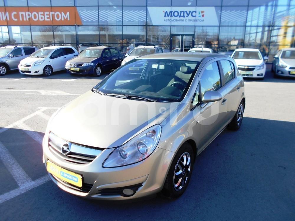Opel Corsa с пробегом, бежевый , отличное состояние, 2008 года выпуска, цена 300 000 руб. в автосалоне  ()