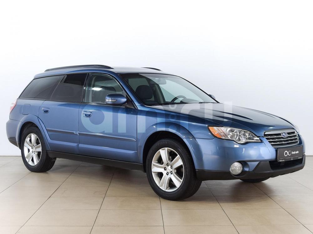 Subaru Outback с пробегом, синий , отличное состояние, 2007 года выпуска, цена 579 000 руб. в автосалоне  ()