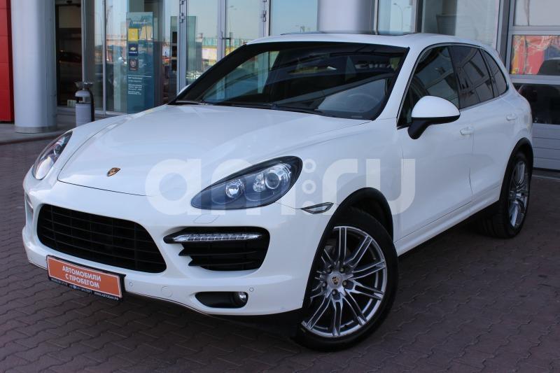Porsche Cayenne с пробегом, белый , отличное состояние, 2010 года выпуска, цена 1 979 000 руб. в автосалоне Автобан-Запад (Екатеринбург, ул. Металлургов, д. 67)