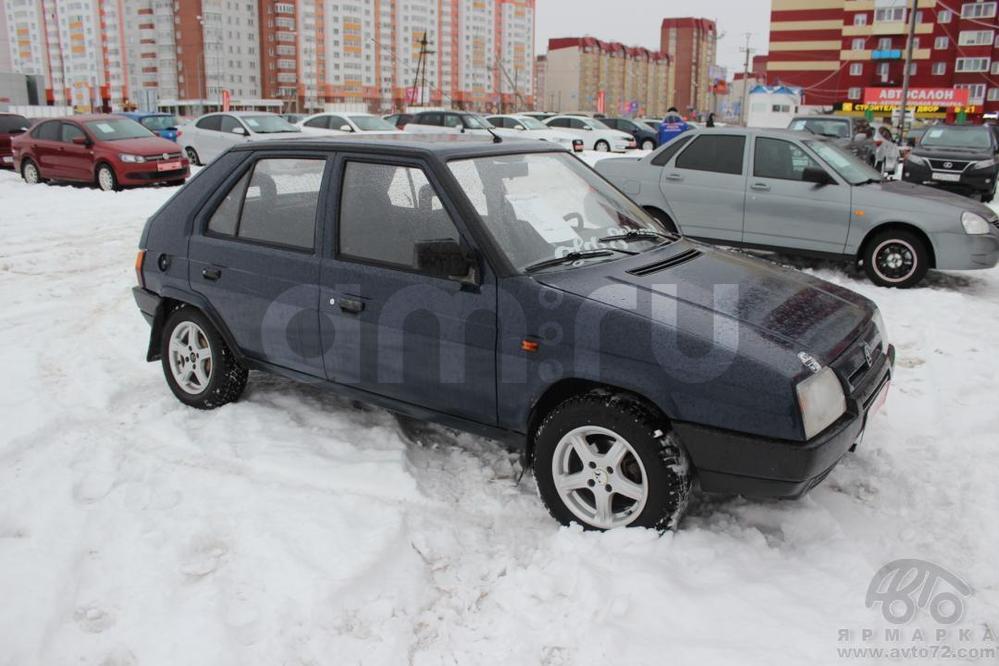 Skoda Favorit с пробегом, синий , отличное состояние, 1994 года выпуска, цена 99 000 руб. в автосалоне Автомобильная Ярмарка (Тюмень, ул. Пермякова, д. 85)