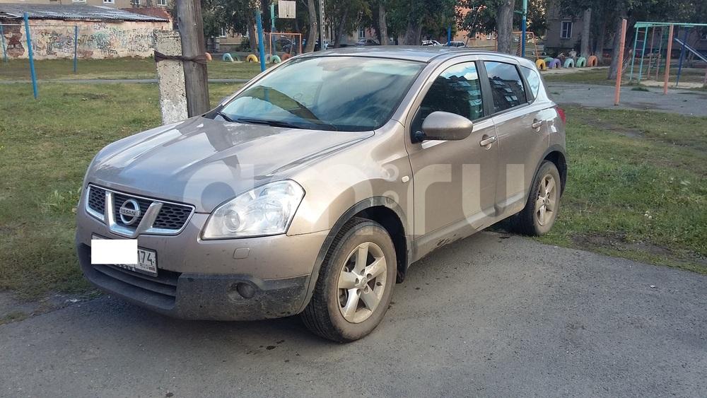 Подержанный Nissan Qashqai, хорошее состояние, бежевый , 2007 года выпуска, цена 580 000 руб. в Челябинской области