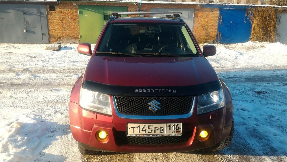 Подержанный Suzuki Grand Vitara, хорошее состояние, вишневый , 2006 года выпуска, цена 570 000 руб. в республике Татарстане