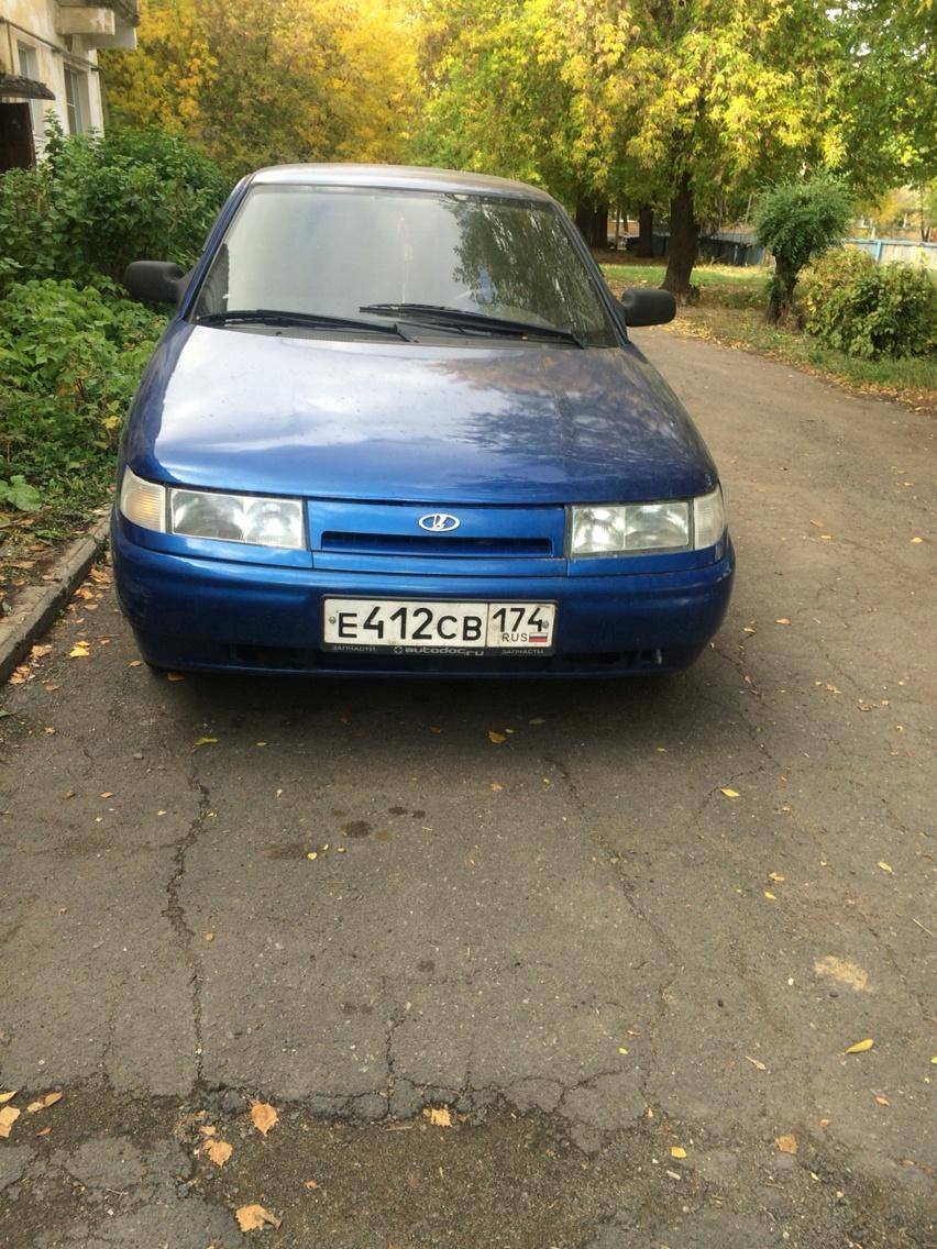 Подержанный ВАЗ (Lada) 2112, хорошее состояние, синий , 2007 года выпуска, цена 120 000 руб. в Челябинской области