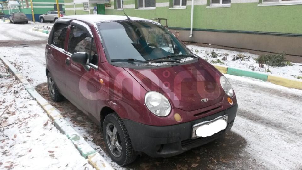 Подержанный Daewoo Matiz, среднее состояние, бордовый , 2007 года выпуска, цена 90 000 руб. в республике Татарстане