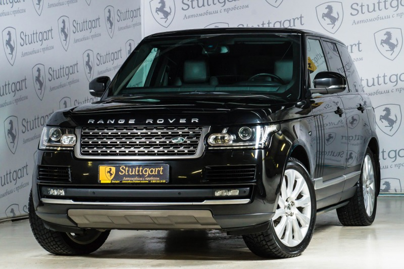Land Rover Range Rover с пробегом, черный , отличное состояние, 2013 года выпуска, цена 3 600 000 руб. в автосалоне  ()