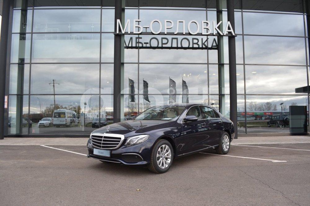 Новый авто Mercedes-Benz E-Класс, синий металлик, 2016 года выпуска, цена 3 100 000 руб. в автосалоне МБ-Орловка (Набережные Челны, тракт Мензелинский, д. 24)