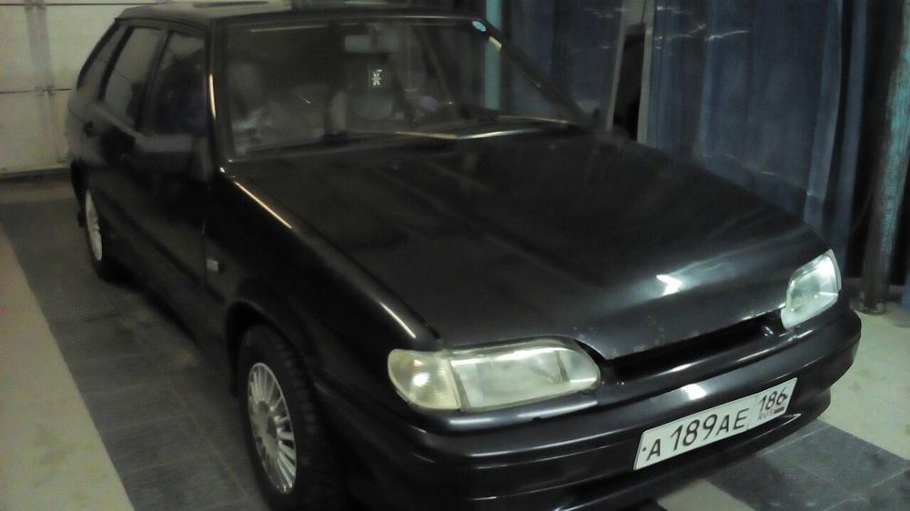 Подержанный ВАЗ (Lada) 2114, хорошее состояние, черный металлик, 2006 года выпуска, цена 120 000 руб. в ао. Ханты-Мансийском Автономном округе - Югре