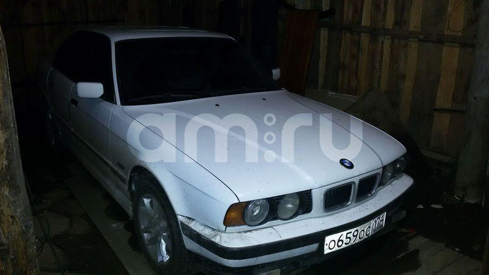 Подержанный BMW 5 серия, среднее состояние, белый , 1994 года выпуска, цена 140 000 руб. в Челябинской области