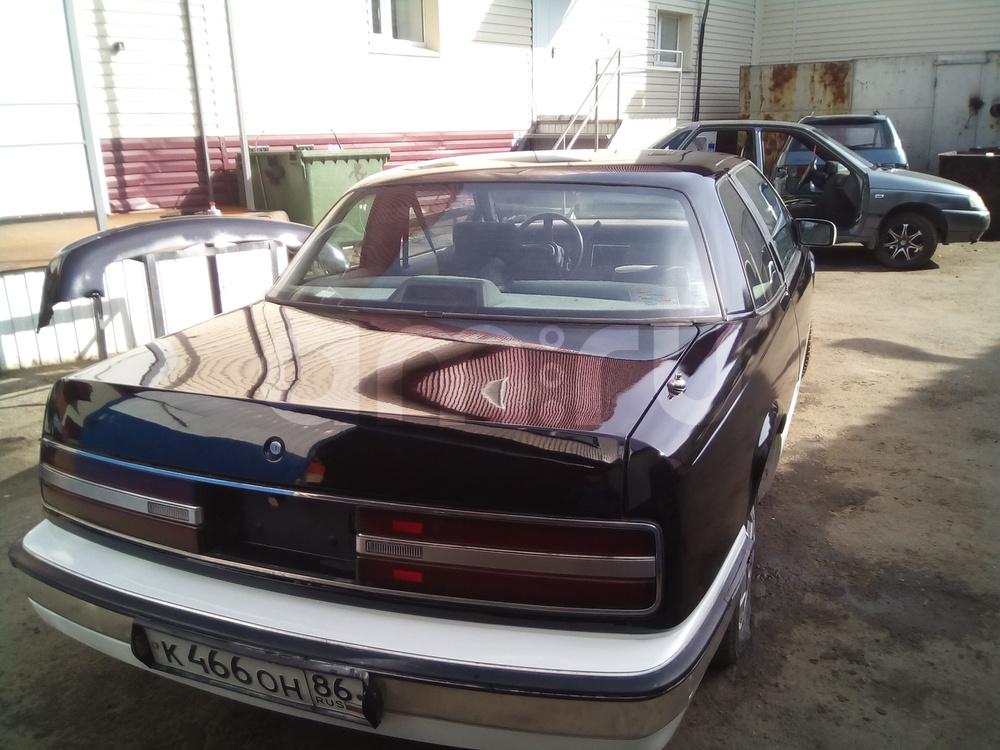 Подержанный Buick Regal, хорошее состояние, черный металлик, 1988 года выпуска, цена 350 000 руб. в ао. Ханты-Мансийском Автономном округе - Югре