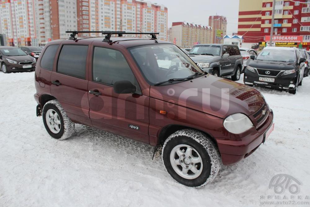 Chevrolet Niva с пробегом, красный , хорошее состояние, 2006 года выпуска, цена 209 000 руб. в автосалоне  ()