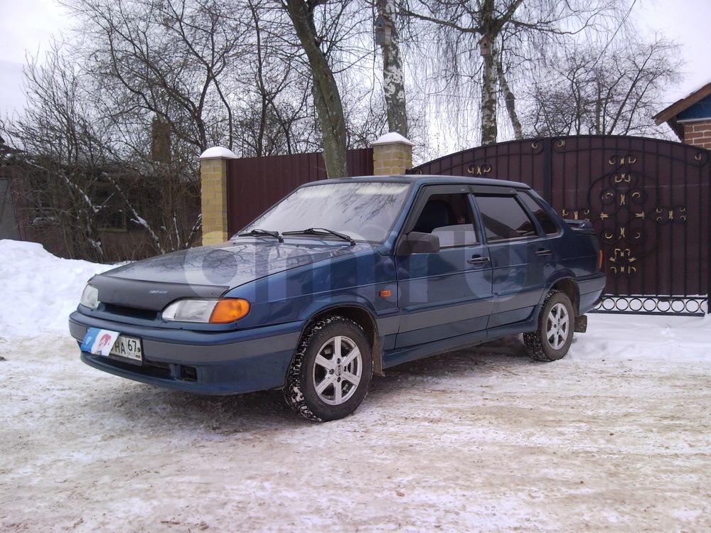 Подержанный ВАЗ (Lada) 2115, отличное состояние, синий , 2005 года выпуска, цена 97 000 руб. в Смоленской области