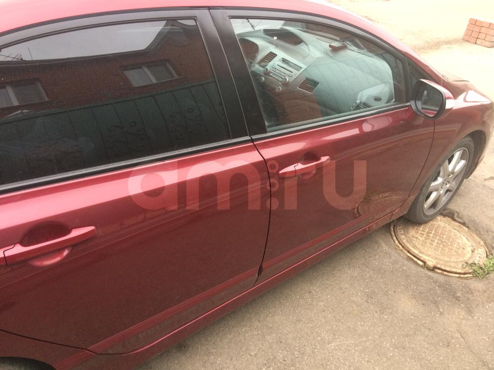 Подержанный Honda Civic, отличное состояние, бордовый металлик, 2007 года выпуска, цена 420 000 руб. в республике Татарстане