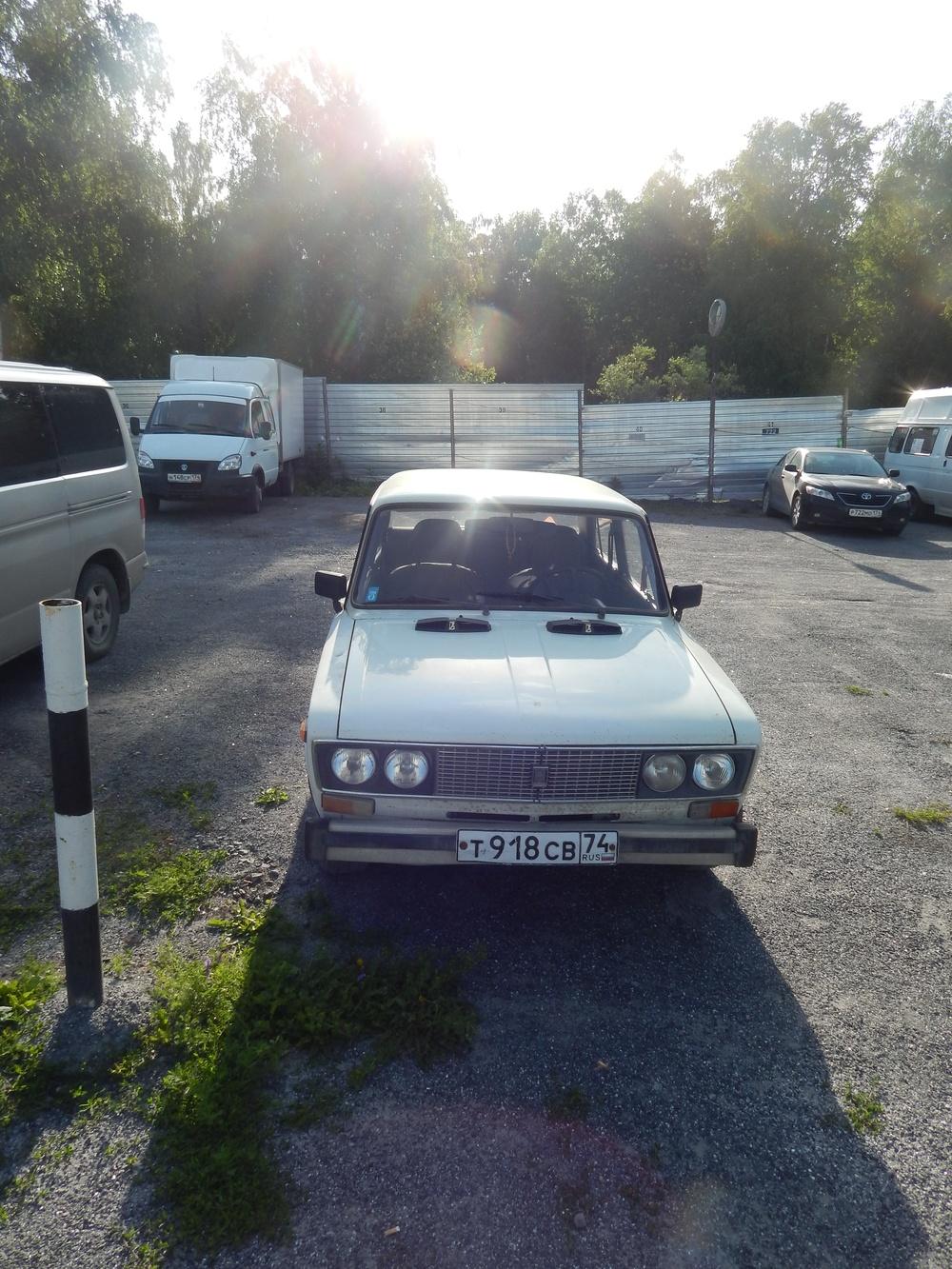 Подержанный ВАЗ (Lada) 2106, хорошее состояние, белый , 1996 года выпуска, цена 30 000 руб. в Челябинской области