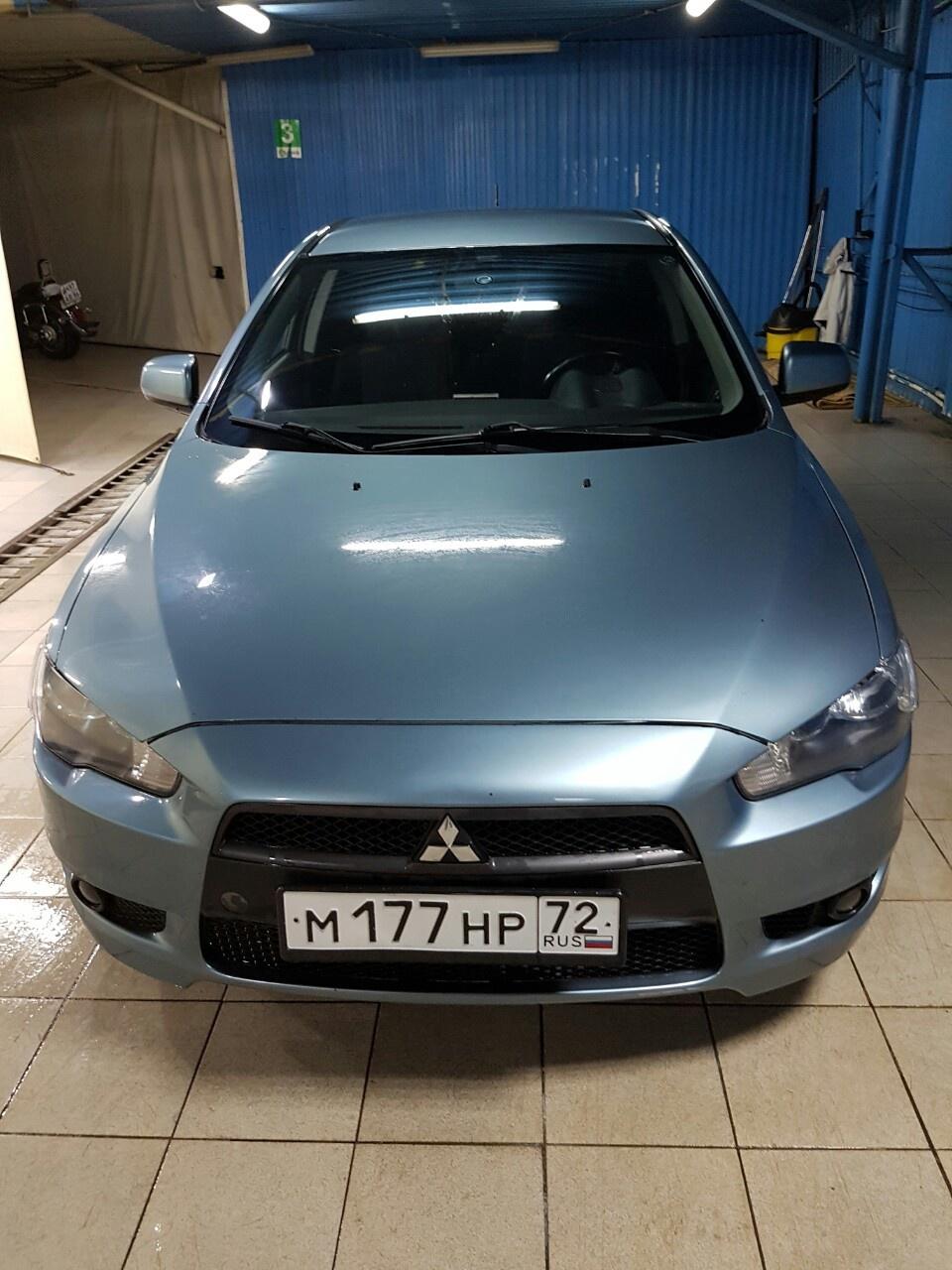 Подержанный Mitsubishi Lancer, отличное состояние, бирюзовый , 2010 года выпуска, цена 470 000 руб. в ао. Ханты-Мансийском Автономном округе - Югре