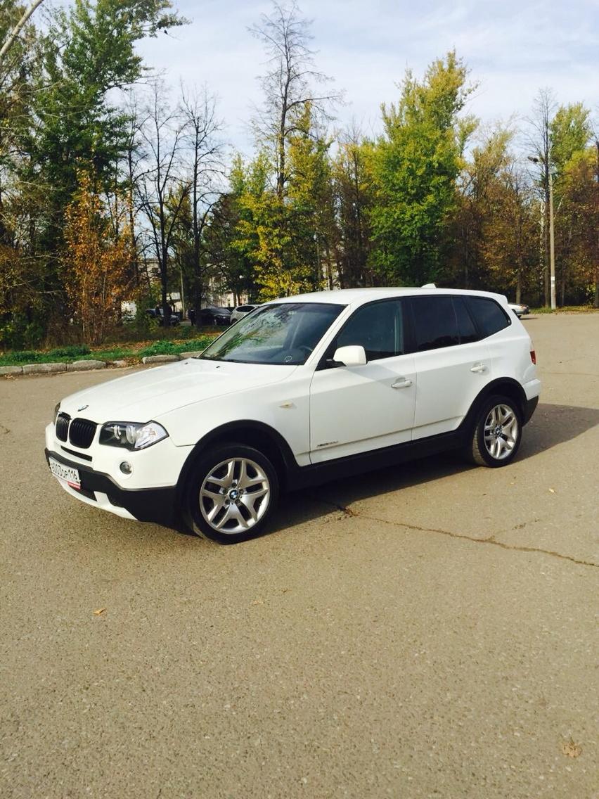 Подержанный BMW X3, отличное состояние, белый , 2009 года выпуска, цена 830 000 руб. в республике Татарстане