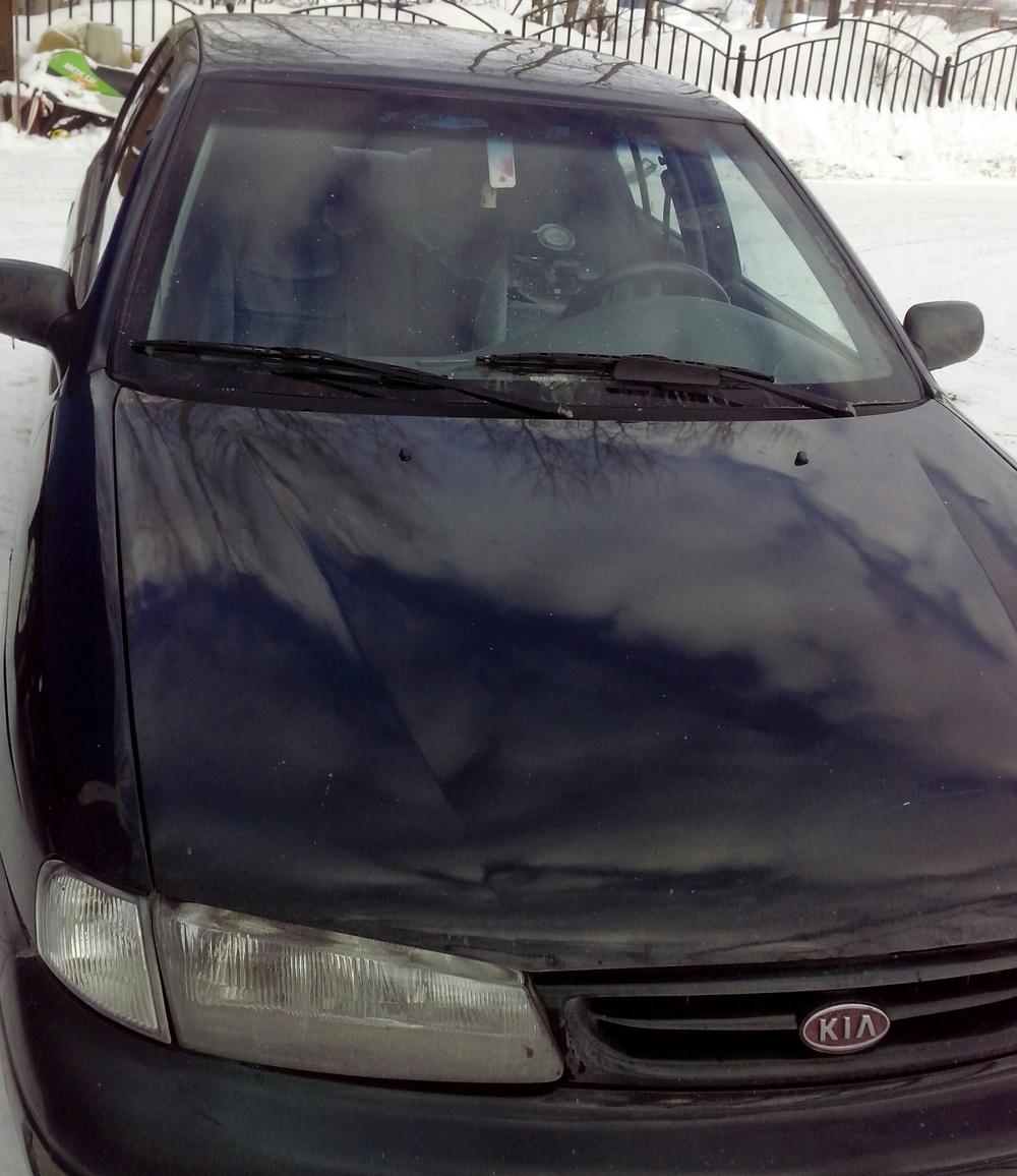 Подержанный Kia Sephia, хорошее состояние, зеленый , 1997 года выпуска, цена 75 000 руб. в ао. Ханты-Мансийском Автономном округе - Югре