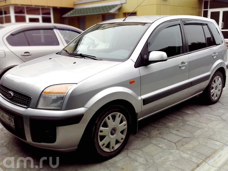 Подержанный Ford Fusion, хорошее состояние, серебряный металлик, 2008 года выпуска, цена 295 000 руб. в ао. Ханты-Мансийском Автономном округе - Югре