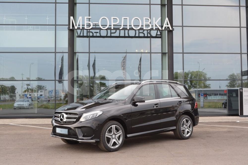 Новый авто Mercedes-Benz GLE-Класс, черный металлик, 2016 года выпуска, цена 4 630 000 руб. в автосалоне МБ-Орловка (Набережные Челны, тракт Мензелинский, д. 24)