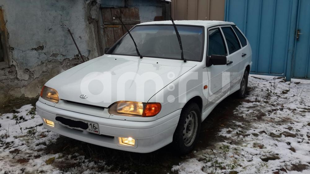 Подержанный ВАЗ (Lada) 2114, отличное состояние, белый , 2013 года выпуска, цена 230 000 руб. в республике Татарстане