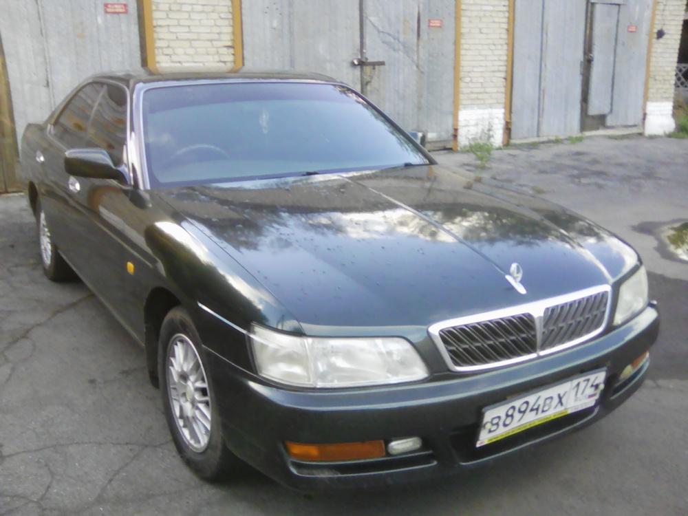 Подержанный Nissan Laurel, отличное состояние, зеленый , 1997 года выпуска, цена 190 000 руб. в Челябинской области
