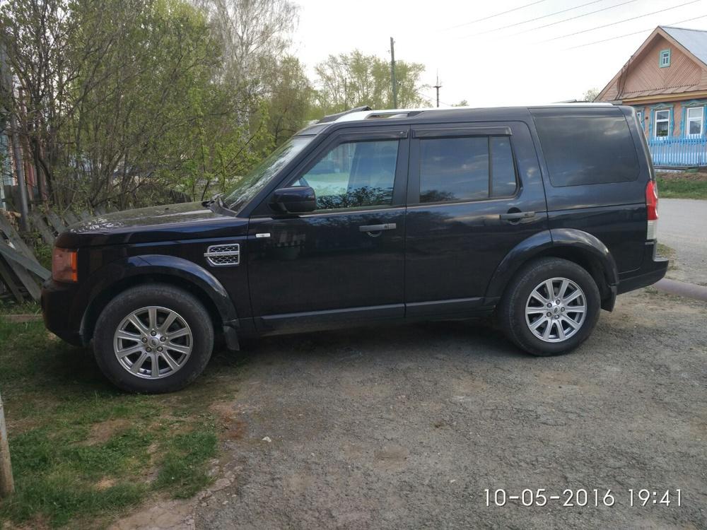 Подержанный Land Rover Discovery, хорошее состояние, синий , 2010 года выпуска, цена 1 420 000 руб. в ао. Ханты-Мансийском Автономном округе - Югре