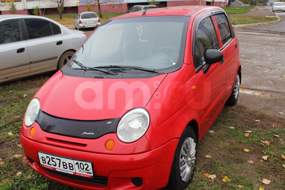 Подержанный Daewoo Matiz, среднее состояние, красный , 2007 года выпуска, цена 143 000 руб. в республике Татарстане