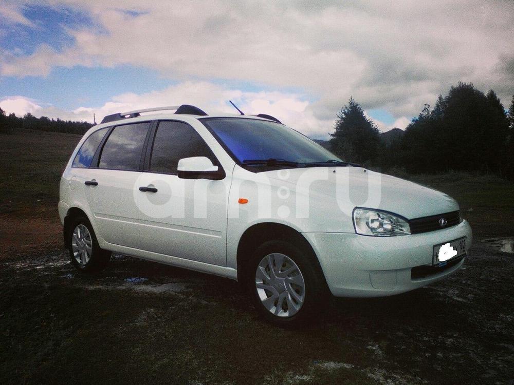 Подержанный ВАЗ (Lada) Kalina, отличное состояние, белый , 2012 года выпуска, цена 237 000 руб. в Челябинской области