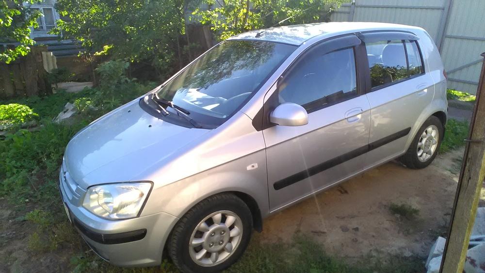 Подержанный Hyundai Getz, хорошее состояние, серый , 2004 года выпуска, цена 230 000 руб. в Смоленской области