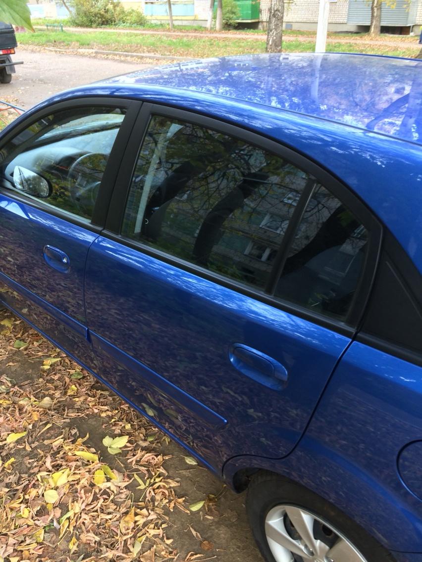 Подержанный Kia Rio, отличное состояние, синий , 2010 года выпуска, цена 365 000 руб. в республике Татарстане