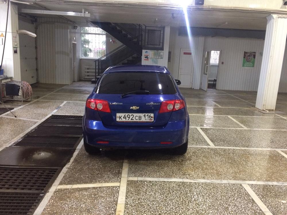 Подержанный Chevrolet Lacetti, отличное состояние, синий , 2008 года выпуска, цена 257 000 руб. в республике Татарстане