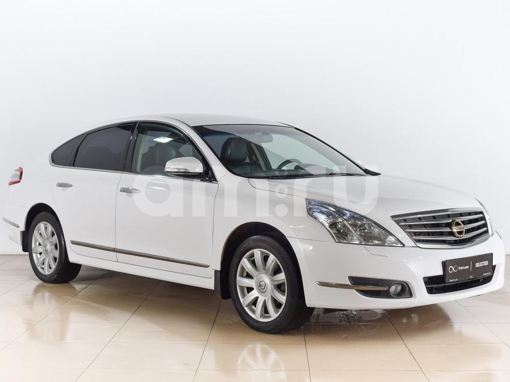 Nissan Teana с пробегом, белый металлик, отличное состояние, 2012 года выпуска, цена 779 000 руб. в автосалоне  ()